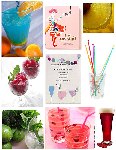 drinks Cool, colorful cocktails