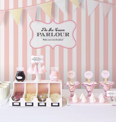 diy-ice-cream-parlour-1 Buffet de Sorvete