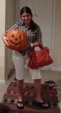 karen-e-jack-o-lantern Clima de Halloween